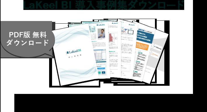 LaKeel BIで課題解決に取り組んだお客様の事例をご確認いただけます。無料でご提供しておりますので、ぜひご活用ください。